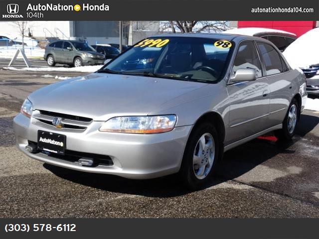 1998 Honda Accord Sdn EX abs 4-wheel air conditioning power windows power door locks cruise c