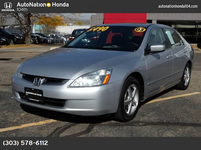 2003 Honda Accord Sdn EX abs 4-wheel air conditioning power windows power door locks cruise c