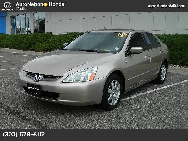 2005 Honda Accord Sdn EX-L V6 abs 4-wheel air conditioning power windows power door locks cru