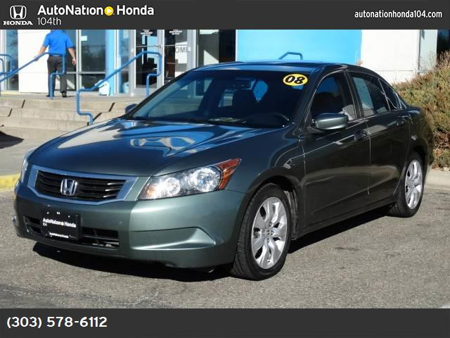 2008 Honda Accord Sdn EX-L traction control stability control abs 4-wheel air conditioning po