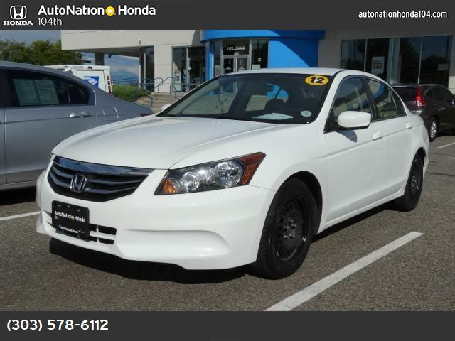 2012 Honda Accord Sdn LX traction control stability control abs 4-wheel keyless entry air con