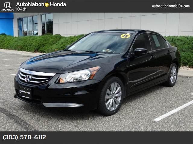 2012 Honda Accord Sdn EX traction control stability control abs 4-wheel air conditioning powe
