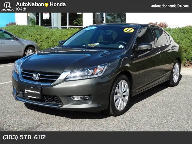 2013 Honda Accord Sdn EX-L traction control stability control abs 4-wheel keyless entry air c