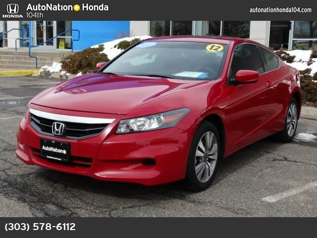 2012 Honda Accord Cpe EX-L traction control stability control abs 4-wheel air conditioning po