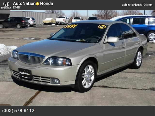 2004 Lincoln LS wSport Pkg traction control abs 4-wheel air conditioning power windows power