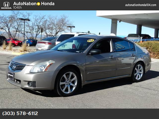 2007 Nissan Maxima 35 SE traction control abs 4-wheel air conditioning power windows power d