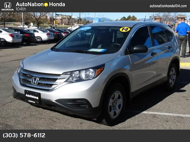 2014 Honda CR-V LX alabaster silver metallic gray  cloth seat trim all wheel drive power steerin