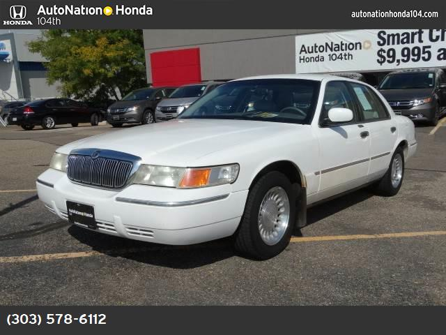 2002 Mercury Grand Marquis LS Premium traction control abs 4-wheel air conditioning power wind