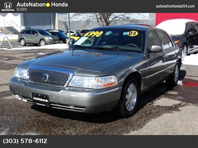 2003 Mercury Grand Marquis LS Premium traction control abs 4-wheel air conditioning power wind