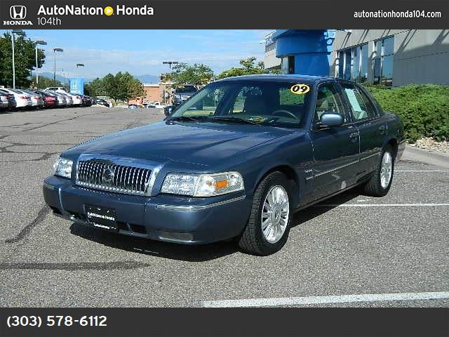 2009 Mercury Grand Marquis LS traction control abs 4-wheel air conditioning power windows pow