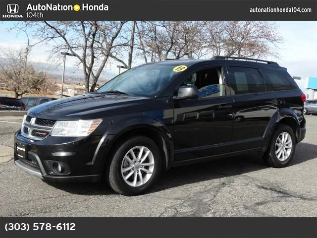 2013 Dodge Journey SXT 36l vvt v6 24-valve engine  std brilliant black crystal pearl all wheel
