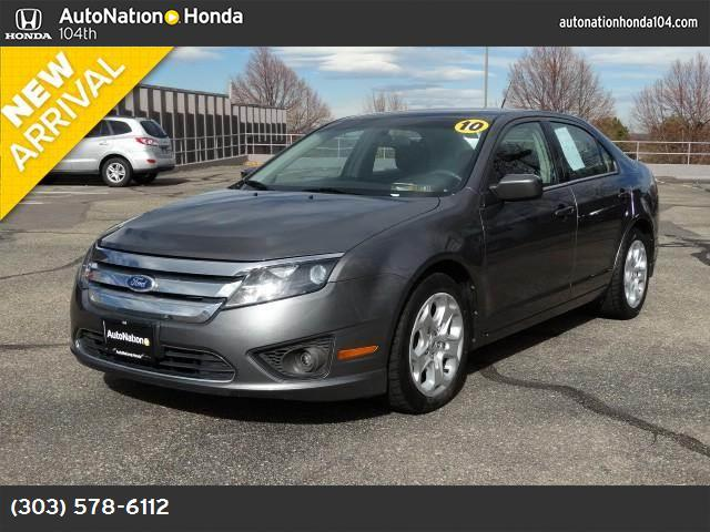 2010 Ford Fusion SE traction control advancetrac abs 4-wheel air conditioning power windows