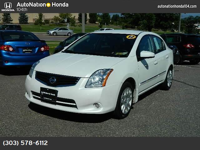 2012 Nissan Sentra 20 S traction control vchl dynamic control abs 4-wheel air conditioning p