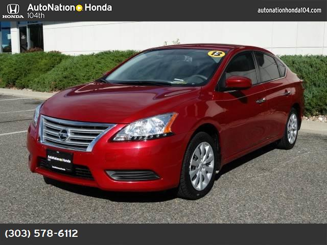 2013 Nissan Sentra SV air conditioning power windows power door locks cruise control power stee
