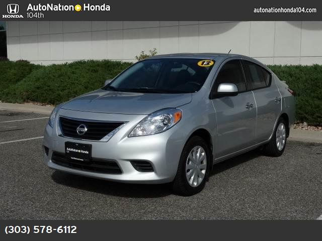 2013 Nissan Versa SV traction control vchl dynamic control abs 4-wheel keyless entry air cond