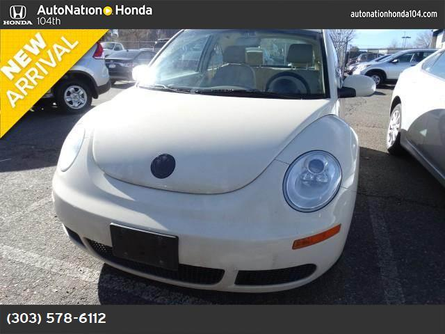 2007 Volkswagen New Beetle Coupe  traction control stability control front wheel drive tires - f