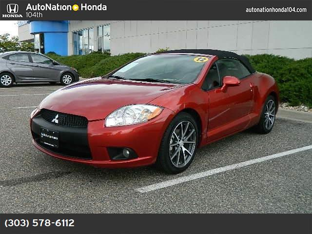 2012 Mitsubishi Eclipse GS Sport traction control stability control abs 4-wheel keyless entry