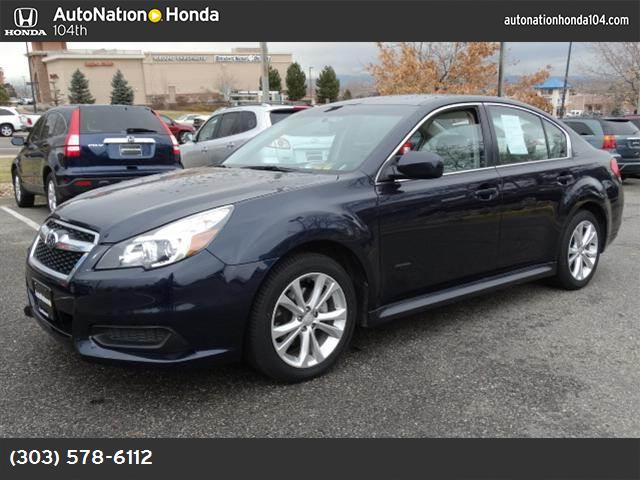 2013 Subaru Legacy 25i Premium hill holder traction control vchl dynamic control abs 4-wheel