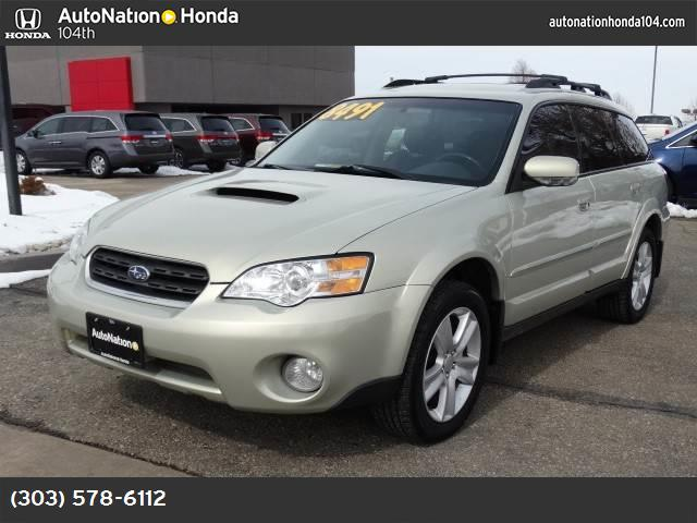 2006 Subaru Legacy Wagon Outback 25 XT abs 4-wheel air conditioning power windows power door