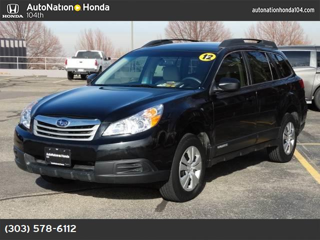 2012 Subaru Outback 25i hill holder traction control vchl dynamic control abs 4-wheel air co