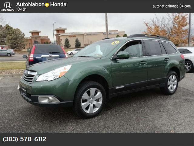 2012 Subaru Outback 25i Prem hill holder traction control vchl dynamic control abs 4-wheel k