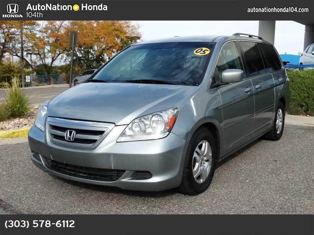 2005 Honda Odyssey EX-L abs 4-wheel air conditioning air cond rear power windows power door l