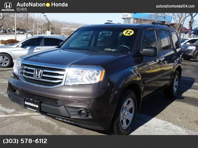 2012 Honda Pilot LX hill start assist control traction control stability control abs 4-wheel