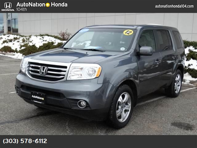 2012 Honda Pilot EX-L gray  leather seat trim lockinglimited slip differential four wheel drive