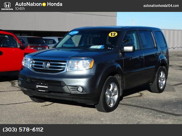 2012 Honda Pilot EX-L hill start assist control traction control stability control abs 4-wheel