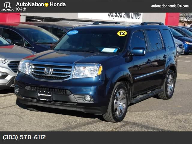 2012 Honda Pilot Touring hill start assist control traction control stability control abs 4-whe