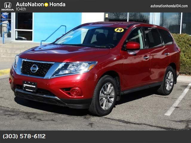 2014 Nissan Pathfinder S hill start assist control traction control vchl dynamic control abs 4-