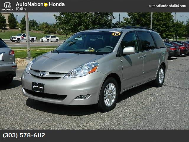 2010 Toyota Sienna XLE power liftgate release xle pkg traction control stability control abs 4