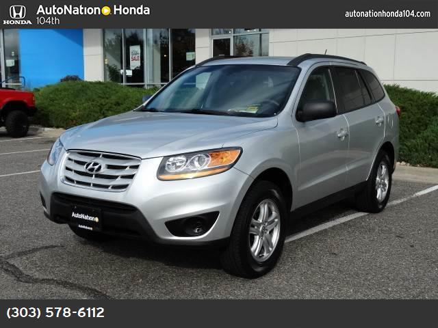 2011 Hyundai Santa Fe GLS traction control stability control abs 4-wheel air conditioning pow