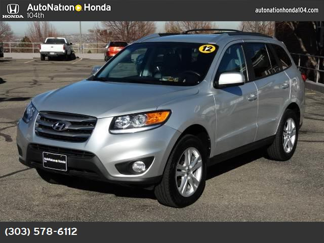 2012 Hyundai Santa Fe SE downhill assist control traction control stability control abs 4-wheel