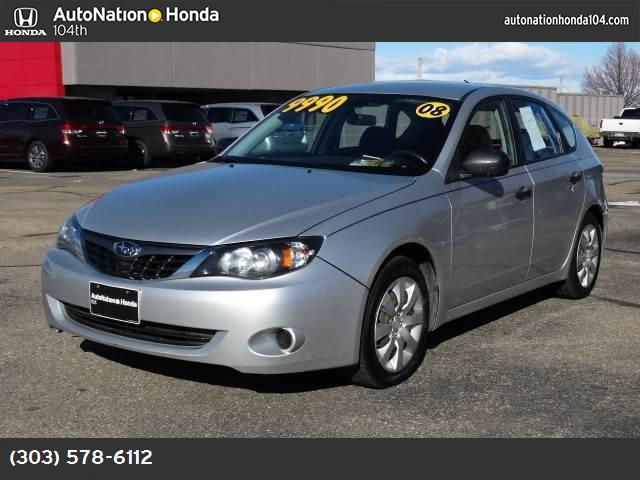 2008 Subaru Impreza Wagon Natl i abs 4-wheel keyless entry air conditioning power windows p