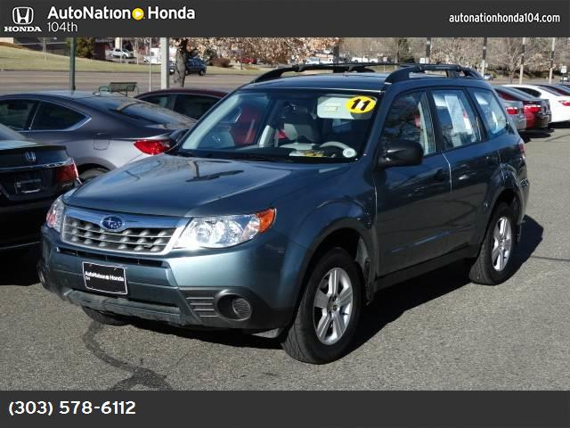 2011 Subaru Forester 25X hill start assist traction control vchl dynamic control abs 4-wheel