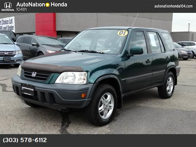 2001 Honda CR-V EX abs 4-wheel air conditioning power windows power door locks cruise control
