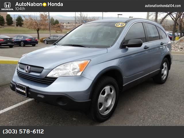 2009 Honda CR-V LX traction control stability control abs 4-wheel air conditioning power wind