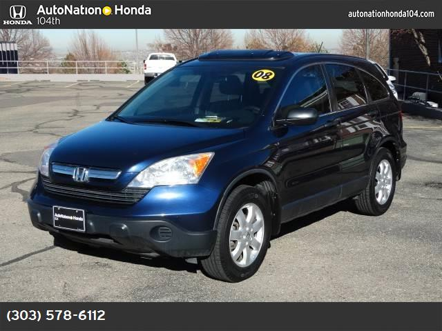 2008 Honda CR-V EX traction control stability control abs 4-wheel air conditioning power wind