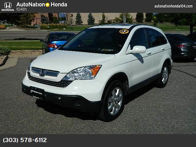 2007 Honda CR-V EX-L traction control stability control abs 4-wheel air conditioning power wi