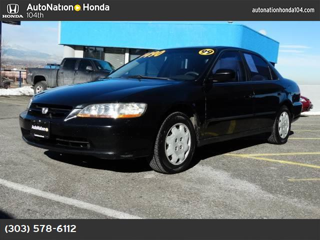 1999 Honda Accord Sdn LX air conditioning power windows power door locks cruise control power s