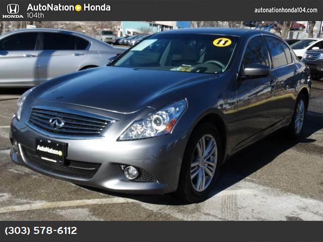 2011 Infiniti G37 Sedan x all wheel drive tow hooks power steering 4-wheel disc brakes aluminum
