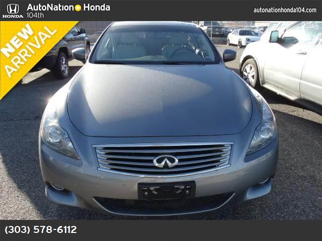 2012 Infiniti G37 Coupe x traction control vchl dynamic control abs 4-wheel keyless entry key