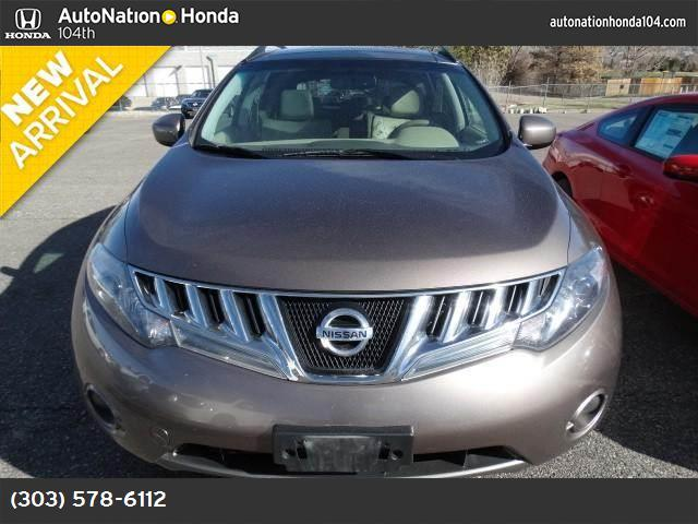 2010 Nissan Murano SL tinted bronze keyless start all wheel drive tow hooks power steering 4-w