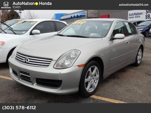 2004 Infiniti G35 Sedan wLeather traction control abs 4-wheel air conditioning power windows