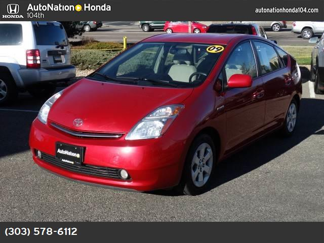 2009 Toyota Prius Touring barcelona red metallic keyless start front wheel drive power steering