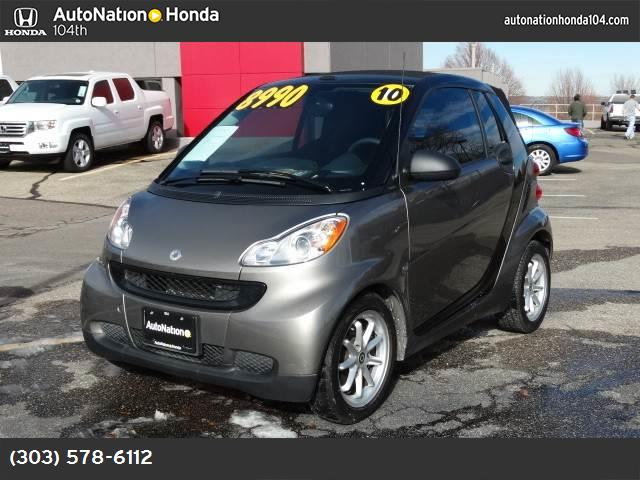 2010 Smart fortwo Passion hill start assist traction control stability control abs 4-wheel ai