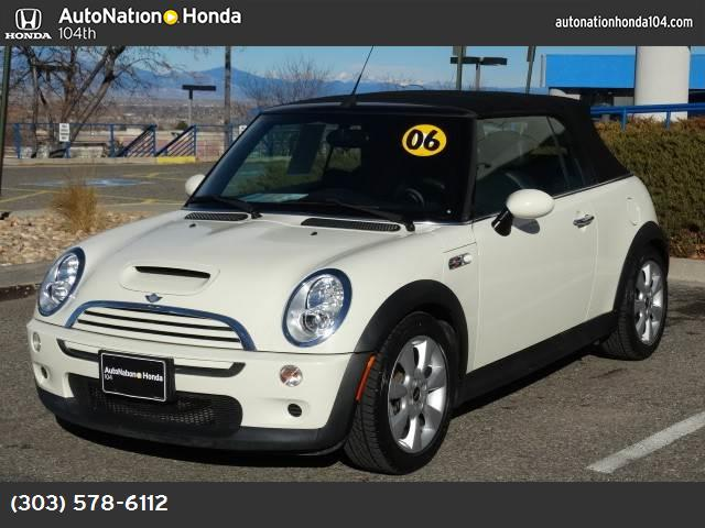 2006 MINI Cooper Convertible S traction control abs 4-wheel air conditioning power windows po