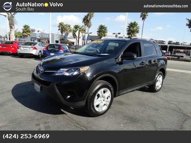 2014 Toyota RAV4 LE traction control stability control abs 4-wheel keyless entry air conditio