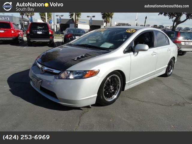 2008 Honda Civic Sdn LX abs 4-wheel keyless entry air conditioning power windows power door l